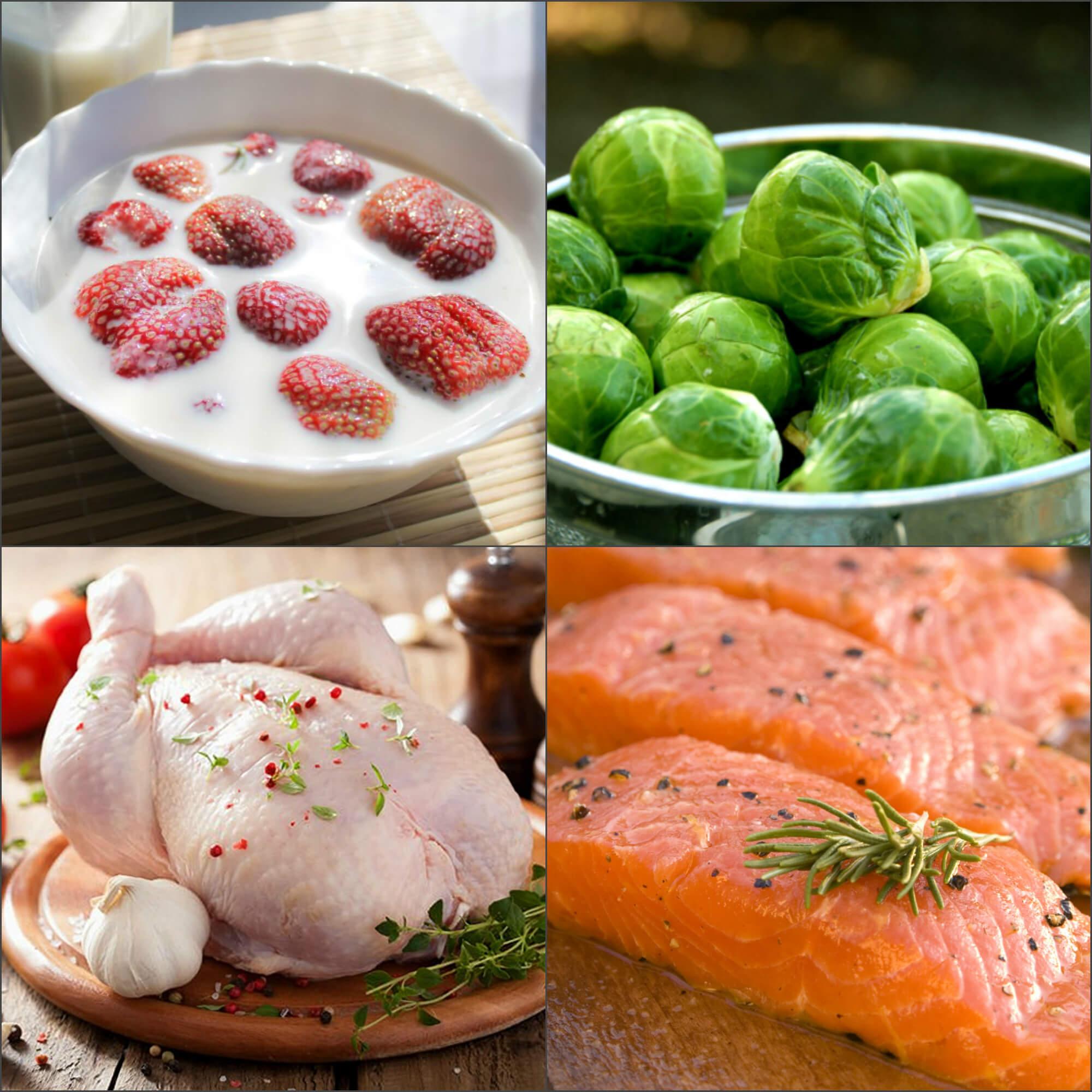 Малокалорийные продукты диета