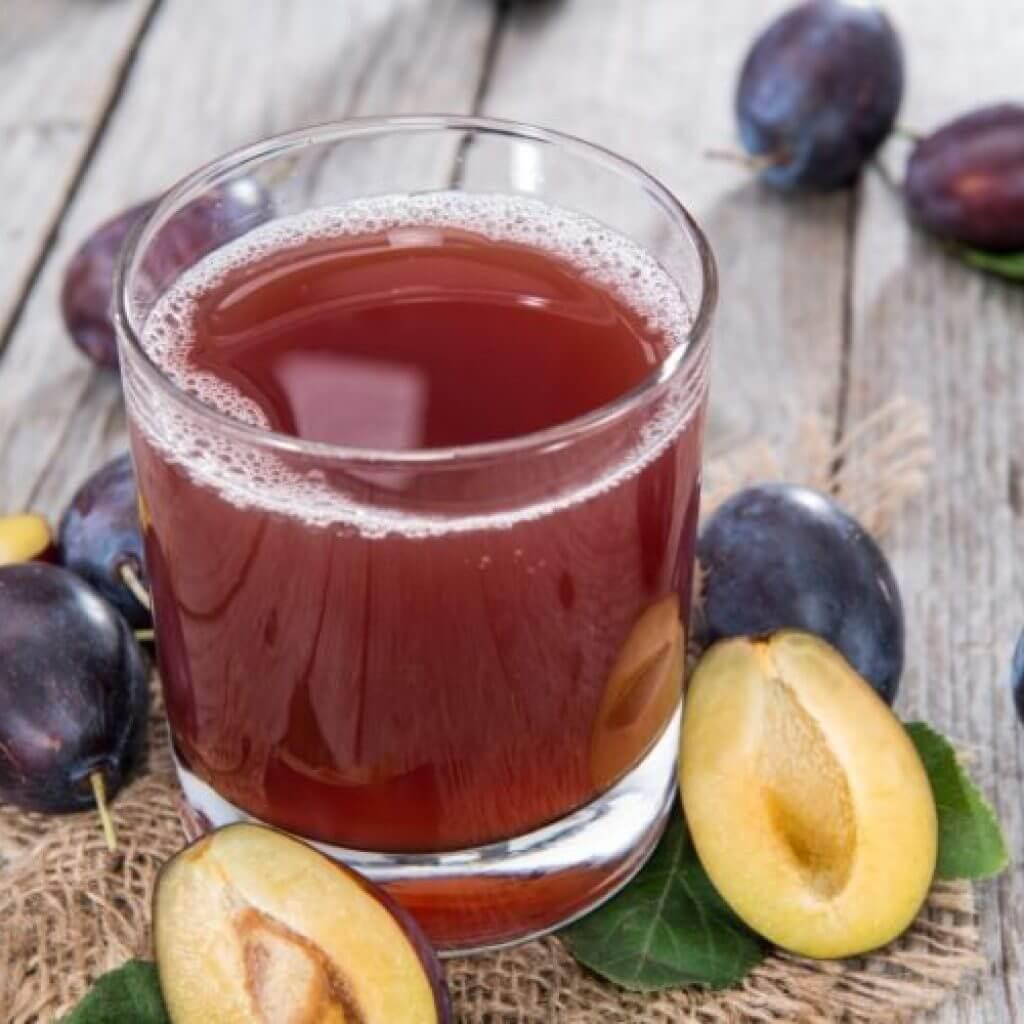 Как сделать сок из сливы в домашних  581