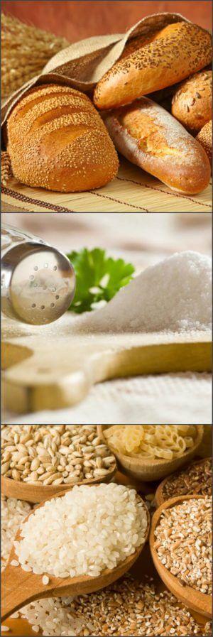 Запрещенные продукты для похудения живота и боков