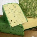 Зеленый сыр Песто