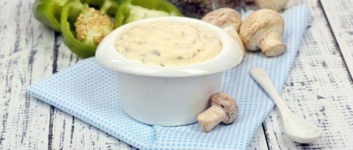 Французский грибной соус