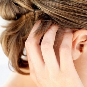 Псориаз на голове