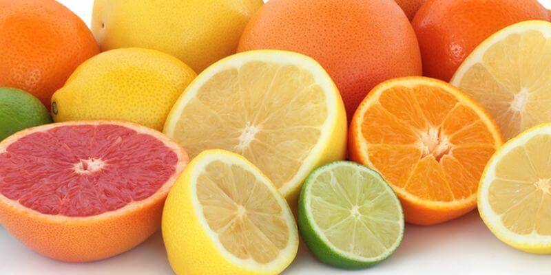 Список основных цитрусовых фруктов