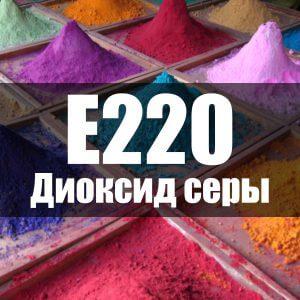 Диоксид серы (Е220)