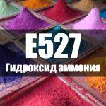 Гидроксид аммония (Е527)