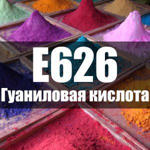 Гуаниловая кислота (Е626)