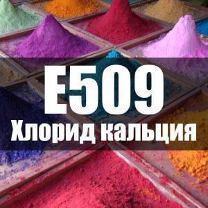 Хлорид кальция (Е509)
