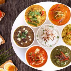 Индийские вегетарианские блюда