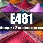 Стеароил-2-лактилат натрия (Е481)