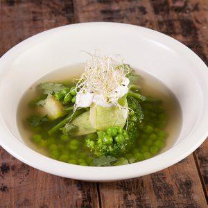 Суп из люцерны