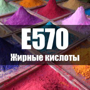 Жирные кислоты (Е570)