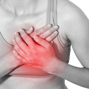 Боли в области грудины