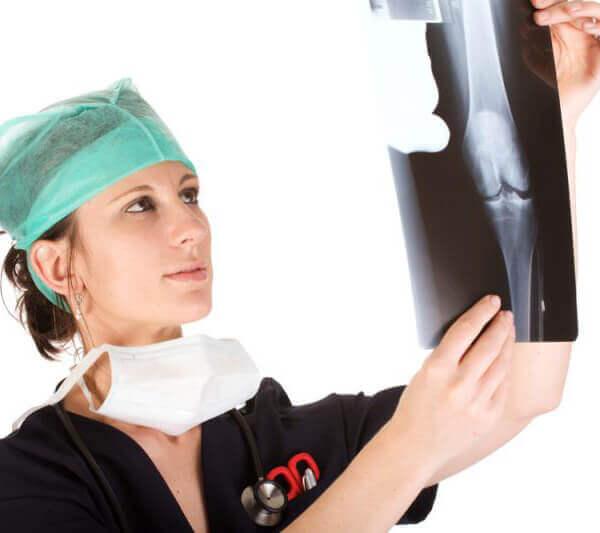Подготовка и проведение рентгена коленного сустава