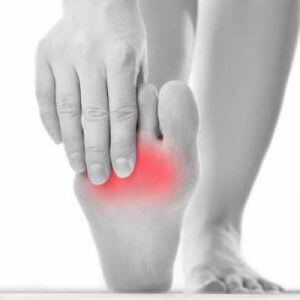 Болевой синдром в области стопы