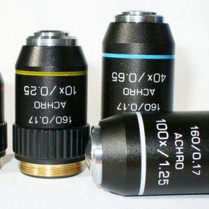 Объективы в микроскопах