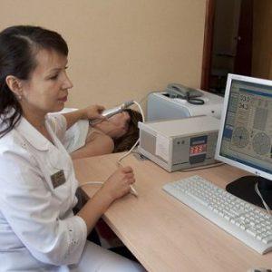 Проведение радиотермометрии молочных желез