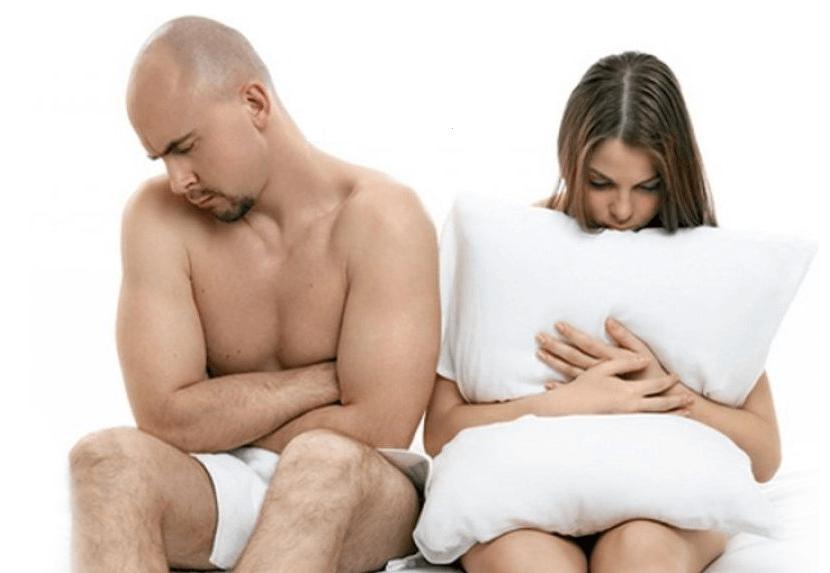Отсутствие оргазма c мужчиной