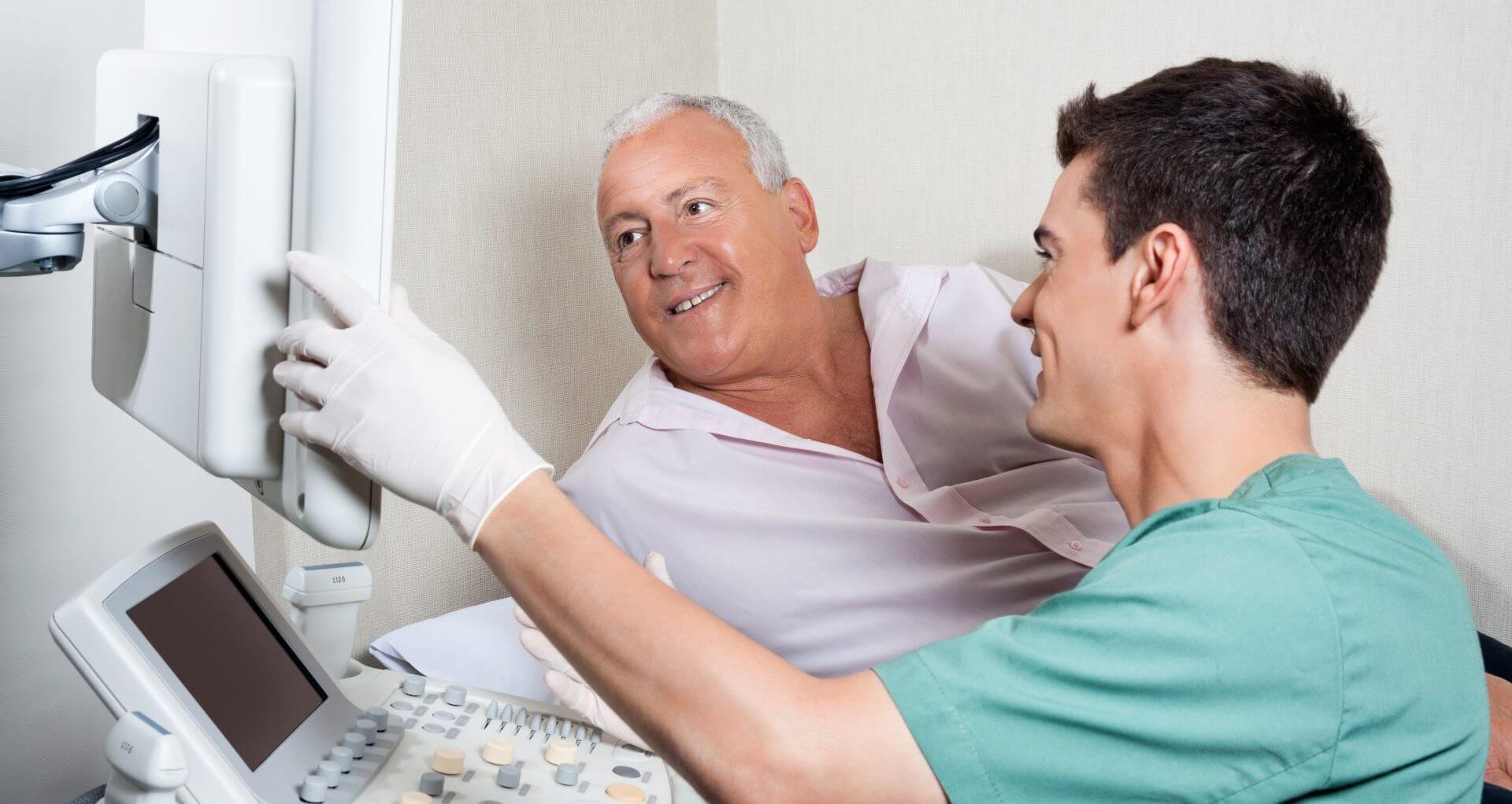 Трансректальное ультразвуковое исследование предстательной железы