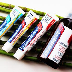 Зубная паста и ополаскиватель