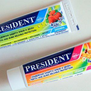 Зубная паста PresiDENT для детей