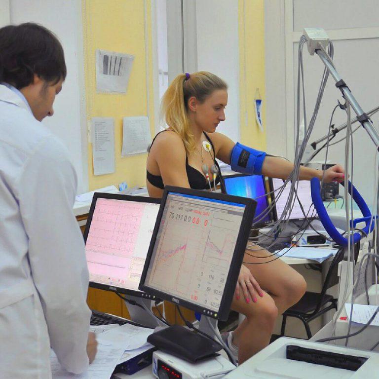 ЭКГ-пробы с дозированной физической нагрузкой (велоэргометрия, тредмил-тест)