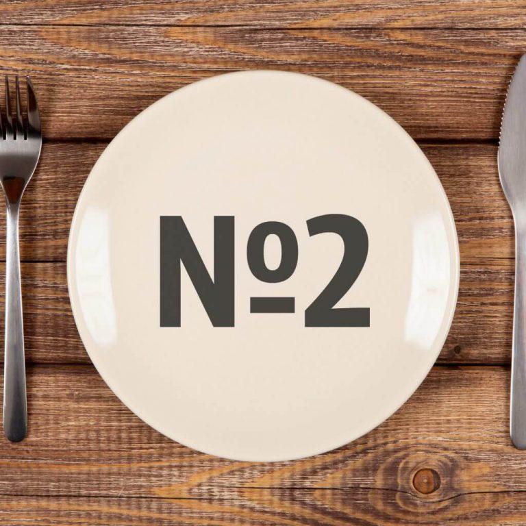 Лечебная диета №2