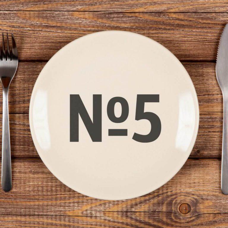 Лечебная диета №5