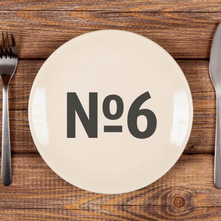 Лечебная диета №6