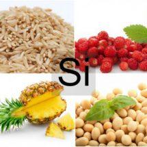 Продукты питания богатые кремнием