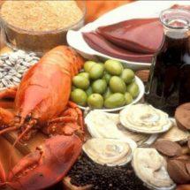 Продукты питания богатые медью