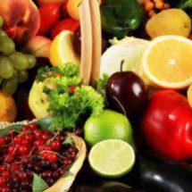 Продукты питания в апреле