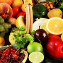 Продукты питания в августе