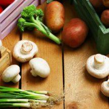 Продукты питания в декабре
