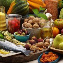 Продукты питания в январе